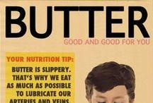 Chasing joy, eating butter, falling down.