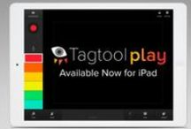 Tagtool / Paint with light, make visuals to music, invent animated stories! Transform your iPad into a collaborative artistic instrument. Go big with a projector and illuminate your imagination!  www.tagtool.at