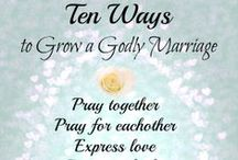 Love and Marriage / Ways to enrich and invest in your marriage.