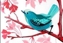 Birds In Art / by Edna Gooden