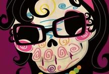 Dia de los Muertos - ART / by Edna Gooden