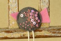 Hand Embroidery/Crewel Designs & Redwork