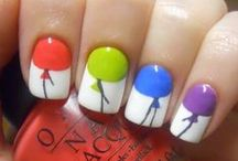 Paint Those NAILS! / Creative and FUN was to paint your finger nails.