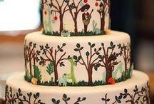 wedding / My dream wedding ideas, in a forest, romantic, fairy lights, flowers,