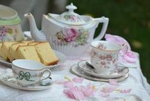 Care For A Spot of Tea?  / Tea parties, scones and lace.