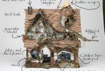 Fairy, Fairy Quite Contrary / These little Fairy gardens ideas are popping up all over.  I'm goin' to start collecting my own enchanted garden ideas to make my own....someday.  I know my daughter would be glad to help me.
