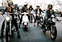 Chicks Who Ride / Girls who ride motorcycles. / by Michelle F