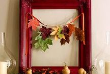 Fall Decorating / Creating a cozy Fall Season.