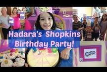 Shopkins Birthday Party / Ideas galore to have Shopkins birthday party!