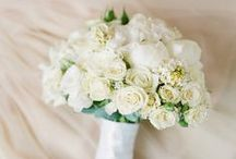 Flowers for Lucy / An all white June wedding.