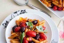 Pasta Gnocchi Polenta Dishes / Italian / A Selection of Pasta, Gnocchi and Polenta dishes