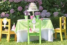 Pink and Green Party Ideas / Pink and green parties perfect for little girls or garden showers.