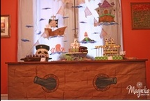 Pirates and Princesses Ideas / Party ideas for pirates and princess themed parties.
