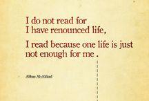 Live a thousand lives: read / by Tara Goldthorpe-