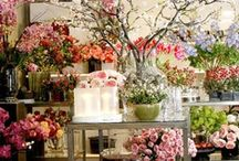 Flowers. Shops. / Beautiful flower shops and displays
