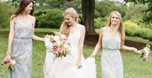 Wedding Inspiration / Beautiful Adrianna Papell Brides + Bridal Parties