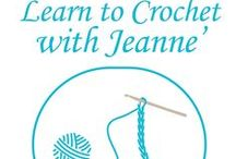 Learn to Crochet with Jeanne' Program 5-2-15 1:00 PM / Come join us as we learn some basic stitches and chat on a lovely Saturday afternoon. Space is limited you must register to attend.  630.260.1550 / by Glenside Public Library District