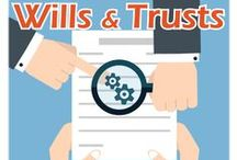 Wills and Trusts Presentation 5-5-15 7:00 PM / Attorneys John Pankau and Lisa Knauf explain what to do to take care of your family and how to avoid common pitfalls and mistakes that could cost your loved ones money. / by Glenside Public Library District