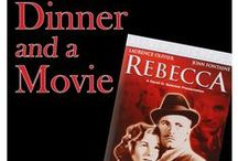 "Dinner and a Movie ""Rebecca"" 5-19-15 6:00 PM / Join us as we watch Alfred Hitchcock's Rebecca made in 1940. Film historian Brian Kleeman will lead the discussion.  Bring your appetite, dinner will be served.  You must register prior to the event by phoning 630.260.1550. / by Glenside Public Library District"