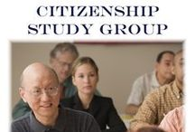 Citizenship Study Group 4 week session Mondays 4/27-5/18 at 6:00 PM / Practice the citizenship test, rehearse for the naturalization interview and prepare for the Oath of Allegiance with this fun study group.  Ages 18 and older are invited to attend.  Please register at 630.260.1550. / by Glenside Public Library District
