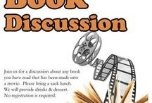 Movie Book Discussion Drop-in Program 3-31-15 NOON / Read a book made into a movie and come join us for a fun discussion.  We will serve a drink and dessert, so bring your lunch.  No registration required.  See you there! / by Glenside Public Library District