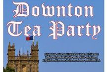 Downton Tea Party Drop-in Program 4-16-15 7:00 PM / Enjoy tales of the real Highclere Castle and discover books and movies like the series while enjoying an English tea. If you are in the mood where your finest hat. / by Glenside Public Library District