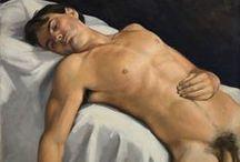 Eros e pittura / Nel gesto d'un pennello e d'una mano che lo muove, nei colori d'una carne viva, su una tela che non è più tela, ma vita...