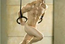Eros e sport / Nei muscoli e nel loro sudore, condensato tutto l'apice d'essere vivi...