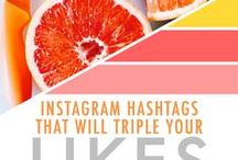 Online // Everything Instagram / Tips for growing your Instagram account and for creating a unique style.