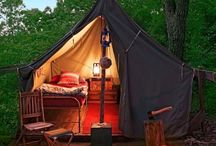 Glamping / That's not glamping, that's just camping with style...