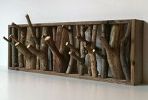 Housetrees / There are treehouses, and then there house-trees - things made for the home from trees. Bring the forest into your decorating schemes with these wood decor ideas and objects.