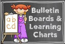 Bulletin Boards & Learning Charts / by Hilary Lewis - Rockin' Teacher Materials
