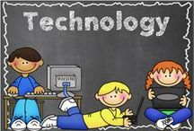 Technology for the Classroom / Technology in the classroom using apps, websites and blogs, strategies fo independent practice and research / by Hilary Lewis - Rockin' Teacher Materials