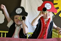 Avast, Me Hearties! / Everything you need for an epic kids' Pirate Party! Ideas for everything from invitations, recipes and activities, to decorations, costumes, party bags and favours. Ahoy there!