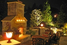 Outdoor Fireplaces / Installed for their warmth as well as their ambiance, outdoor fireplaces transform backyards into cozy outdoor living rooms. Get ideas and inspiration for designing your own at http://www.landscapingnetwork.com/outdoor-fireplace/