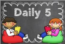 Daily5 / Ideas for using Daily 5 stations in your classroom. / by Hilary Lewis - Rockin' Teacher Materials