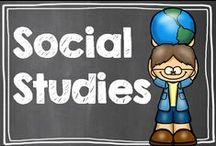 Social Studies / by Hilary Lewis - Rockin' Teacher Materials