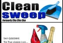 "Clean Sweep (Formerly Cha Cha Cha) / What does a woman do when her husband loses everything in the stock market, then dumps her to go back to his first wife? If she's Alison Waxman Koff and she's been living the Good Life in a mansion in Connecticut, she starts doing her own nails and buying iceberg lettuce instead of designer greens. When that isn't enough, she gets a job as a maid - only to find herself the prime suspect in her boss's murder. ""Sexy and humorous."" - Library Journal"