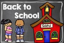 Back To School / by Hilary Lewis - Rockin' Teacher Materials