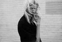 A Blond In Black