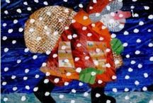 Picture Book Christmas / Picture books with a Christmas or winter theme - perfect for putting together a book advent calendar.