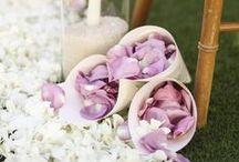 Lavender Wedding Palette / Weddings of soft purples & lavenders