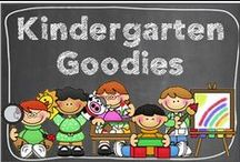 Kindergarten Goodies / A special board for our special kinders! / by Hilary Lewis - Rockin' Teacher Materials