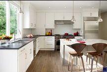 White Kitchens / White kitchens from Feinmann Design and Build Firm / by Feinmann, Inc. Design Build