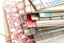 :: Making Notebook :: / Book binding, folding paper, notebook