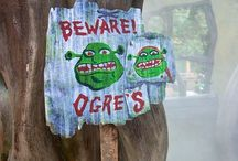 Shrek Play / Shrek themed ideas and inspiration for activities and parties - recipes, games, decorations and all sorts of fun, whether it's a party or just because you love that big, green guy
