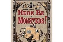 Boxtrolls Birthday Party / Are your kids' fans of the book 'Here Be Monsters' (by Alan Snow) or the movie based on it - Boxtrolls?   Find everything you need for an epic 'Boxtrolls' themed party! Ideas for everything from invitations, recipes and activities, to decorations, costumes, party bags and favours. Cheesy!