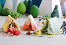 Tepees, Wigwams and Tents / All sorts of inspirational teepees, wigwams, and tents - ideas and tutorials for kid-sized canvas (or otherwise) dens.