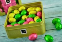 The Happy Easter Collection! / Patchi's 2015 joyful Easter collection is like no other! Celebrate with your family and loved ones and choose from a variety of chocolate Easter eggs, bunnies and flowers all wrapped in the brightest, happiest colours!
