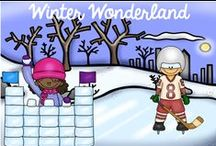 Winter / Wonderful Winter activities to keep students engaged through the long winter. / by Hilary Lewis - Rockin' Teacher Materials